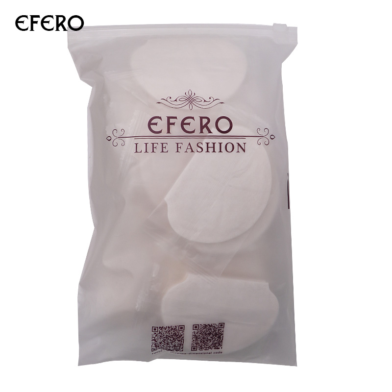 Efero Deodorant Underarm Pads Armpits Sweat Gaskets Sweat Underarms Sweat Pads Armpit Absorbent Underarm Sticker Patch 50/100PCS