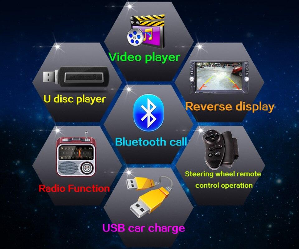 Built-In Din Health Bluetooth 7
