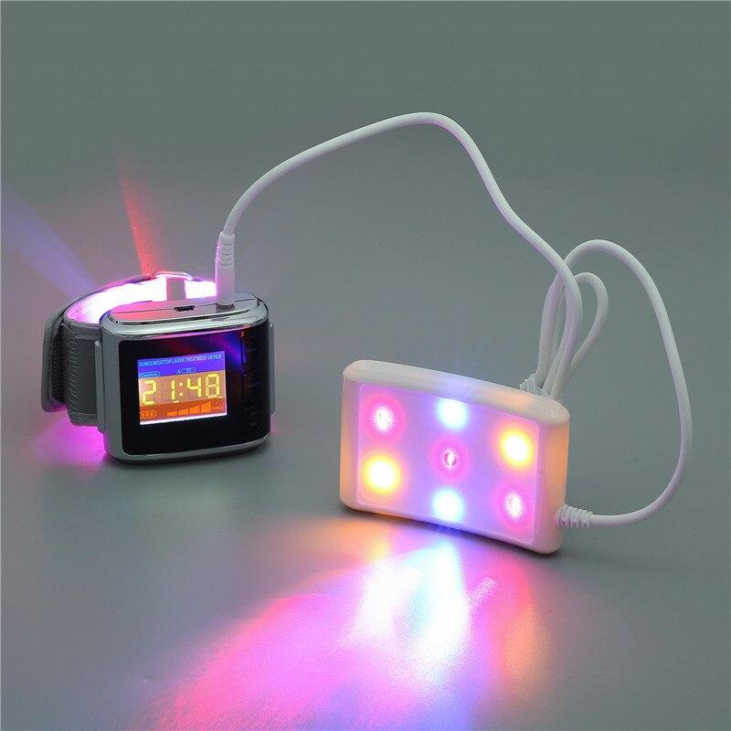 ATANG 2018 Novos Equipamentos Médicos Dispositivo Laser Terapia LLLT Relógio de Pulso de Laser Terapêutico Baixo Hipertensão Doença Cardíaca coronária
