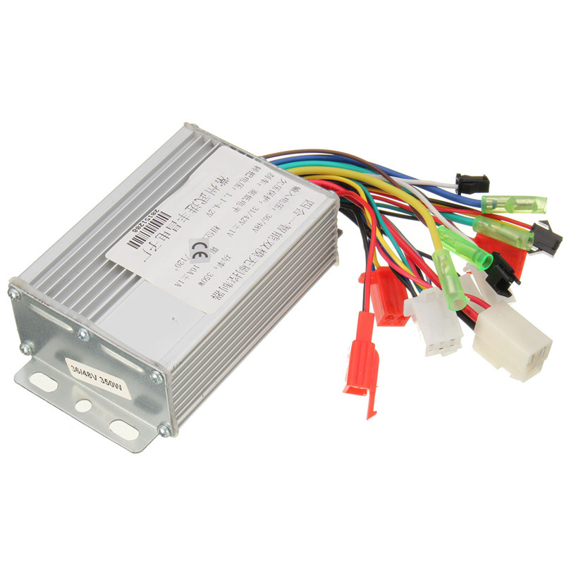 350W 36V/48V DC 6 MOFSET Brushless Controller, E-bike / E-scooter / Electric Bicycle Speed Controller (simple) Hot Sale
