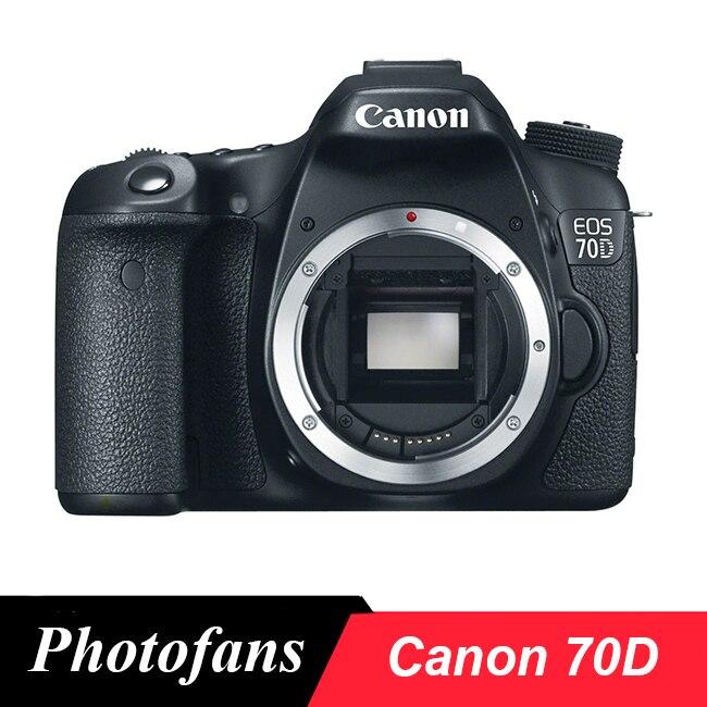 Appareil photo reflex numérique Canon 70D-écran tactile Vari-Angle-vidéo-wi-fi