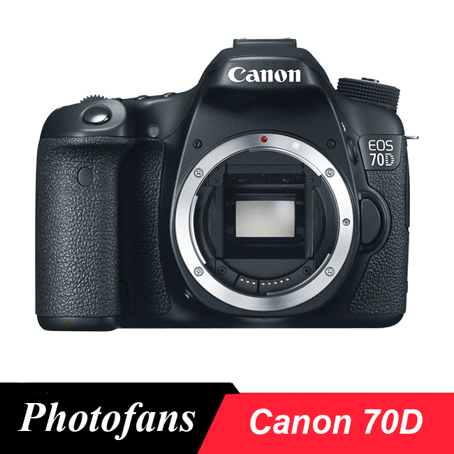 Canon 70D DSLR Camera -Vari-Angle Touchscreen -Video -Wi-Fi