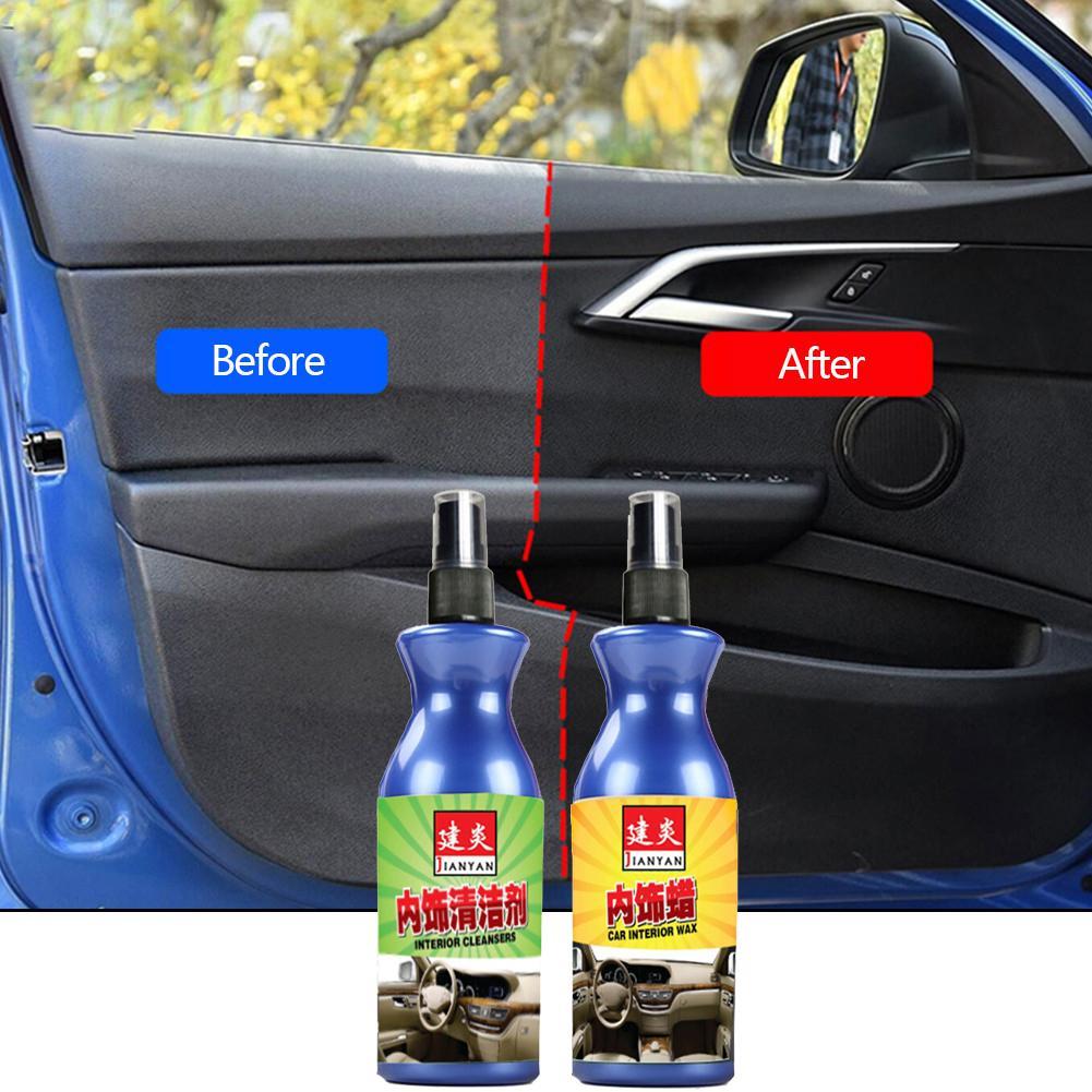 100ml Car Leather Repair Wax Car Interior Quick Repair Agent Cleaner Auto Liquid Cleaners Panel Dashboard Cleaner