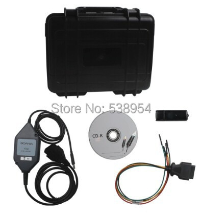 Qulity + Scania VCI 2 Diagnos & Programmer Truck Diagnostic Tool VCI2 - BEST CAR TOOL store