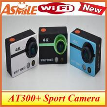 New 4K AT300+ Ultra HD action camera WiFi  sport Camcorder 170 degree Wide Angle 2 inch screen Sports Action,
