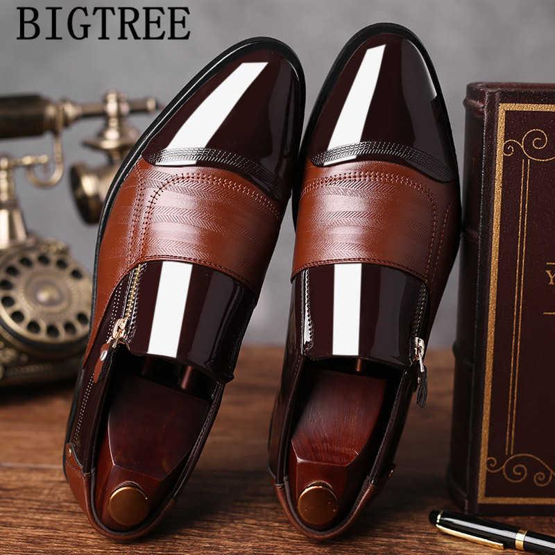 Sapatos de couro de alta qualidade sapatos de negócios sapatos de couro de couro de vaca sapatos de couro