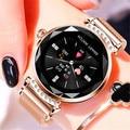 LIGE, женские часы, фитнес-браслет, кровяное давление, пульсометр, напоминание о менструации, Смарт-часы, подарок на День святого Валентина для...