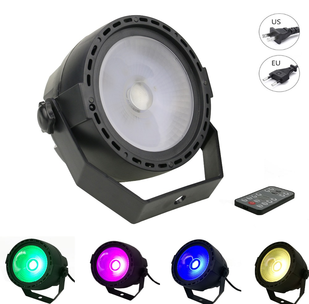 DMX Sound music Romote Control 15W Stage Light COB RGB LED Par Light Disco Bar DJ Party Club Strobe Effect Lighting база под макияж make up factory strobing fluid 3