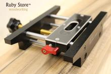 Precision Mortising Jig and Loose Tenon Joinery System Mortise Pal Style