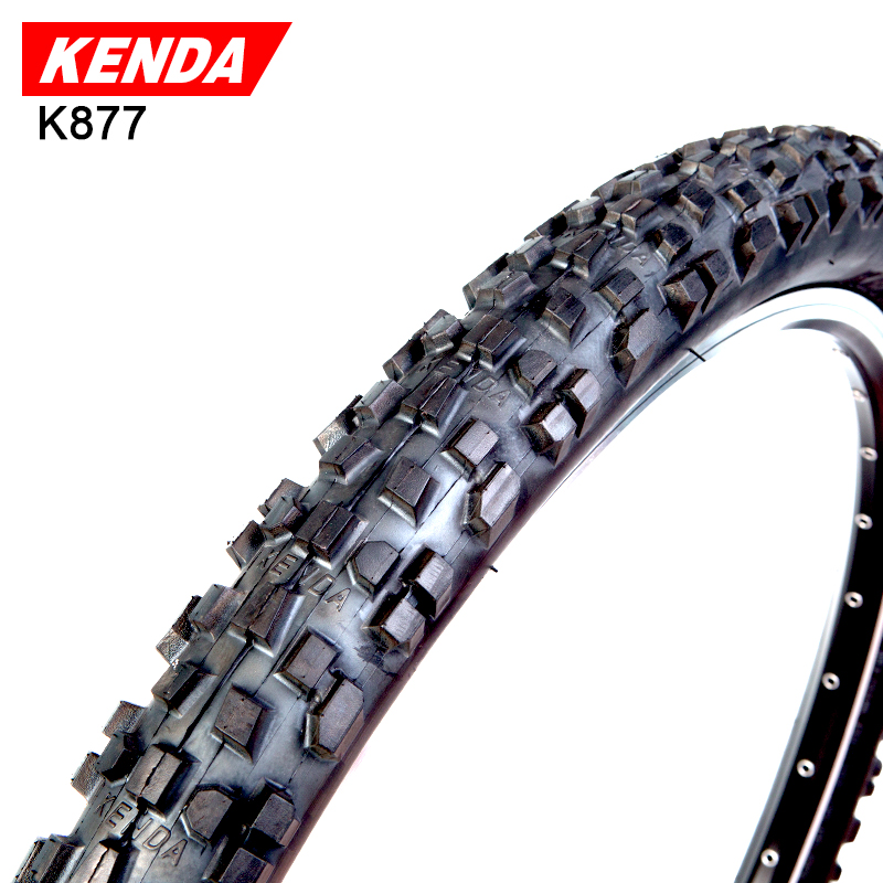 KENDA Tire Bicycle 26 X 2.35/1.95/2.1 Mountain Bike Tyre Cross-country Bicycle Tires K877 kenda slick bicycle tires 26x1 5 mtb road bike tyre rubber slick tread tires for bicycle competition training bike tire 60 tpi