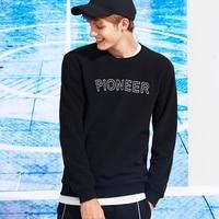 Pioneer Camp thick warm fleece hoodies men hot sale brand clothing autumn winter sweatshirts male quality men tracksuit 699035 2