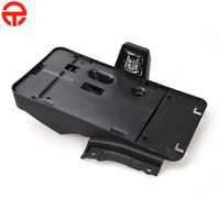 USA Rear License Plate Bracket Holder With 12V Light Rear Tail Auto License Plate Mounting Holder