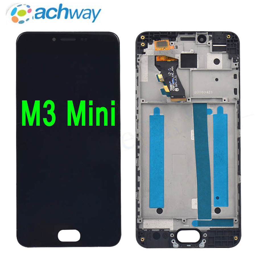 <font><b>Meizu</b></font> <font><b>M3</b></font> LCD <font><b>Display</b></font> Touch Screen Digitizer Assembly M688Q M688C M688M M688U <font><b>MEIZU</b></font> <font><b>M3</b></font> <font><b>mini</b></font> LCD With Frame Replacement image