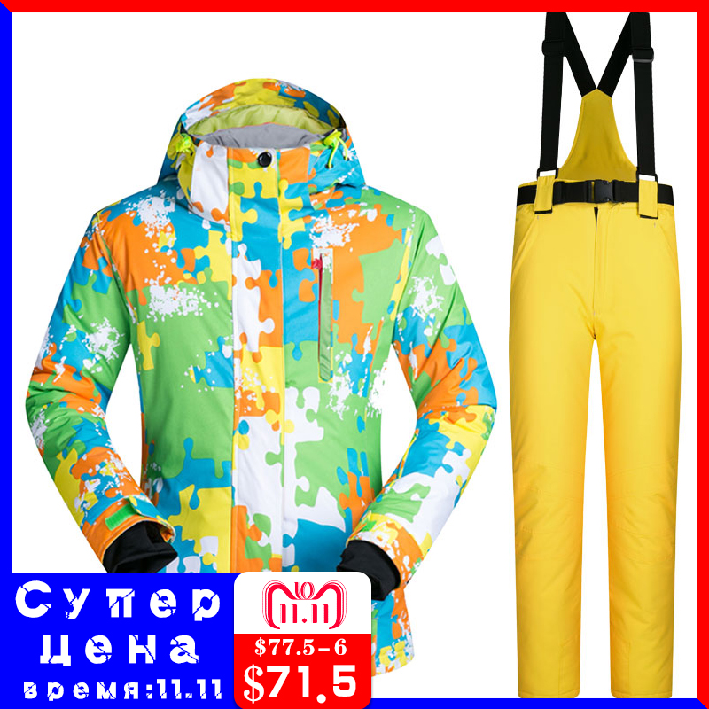 Snowboarding Suits Brands WL New Outdoor Windproof Waterproof Wramth Snow Clothes Skiing Jacket And Pants Winter Ski Suit Women 2018 new lover men and women windproof waterproof thermal male snow pants sets skiing and snowboarding ski suit men jackets