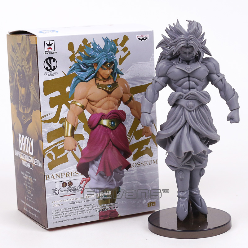 Dragon Ball Z Broly Statue PVC Figure Collectible Model Toy with Retail Box fire toy deadpool pvc action figure collectible model toy 10 27cm retail box wu124