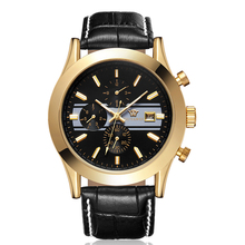 New mens watches top brand luxury Clock Timer Automatic Self-Wind Mechanical Wristwatches relogio masculino Timepiece Watch