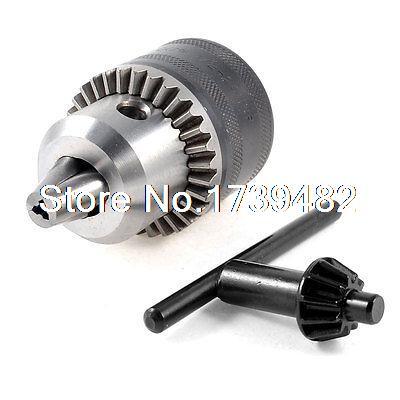 цена на 1/2 -20UNF Mount 3mm-16mm Capacity Key Type Electric Lathe Chuck Drilling