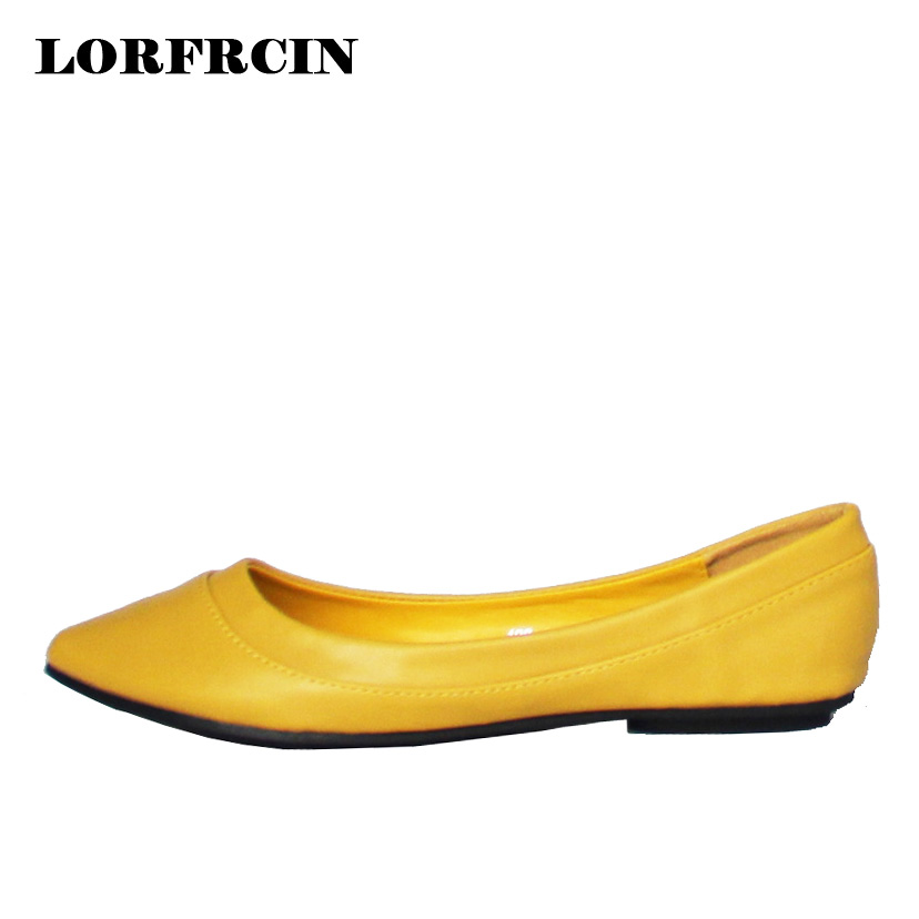 Spring Womens Shoes Flats Women Casual Shoes Moccasins Shoes Woman Slip On Pointed Toe Flat Shoes  zapatos planos mujer scarpe yiqitazer 2017 new summer slipony lofer womens shoes flats nice ladies dress pointed toe narrow casual shoes women loafers