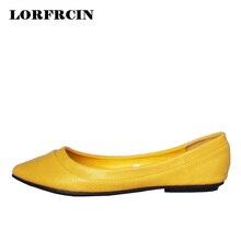 Resorte de Las Mujeres Zapatos de Los Planos de Las Mujeres Zapatos Casuales Zapatos Mocasines Slip On Punta estrecha y Zapatos Planos de la Mujer zapatos planos mujer scarpe