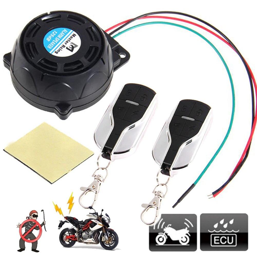 Мастер Гоночный Мотоцикл Противоугонная система охранной сигнализации предупреждающий замок мотоцикл скутер мото охранная сигнализация ...