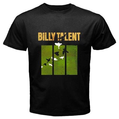 Новый Билли талант панк-рок-группа Для мужчин черный футболка различных цветов Высокое качество 100%