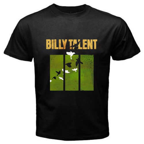 New Billy Talent Punk Rock Band Mens Black T-Shirt Different Colours High Quality 100%