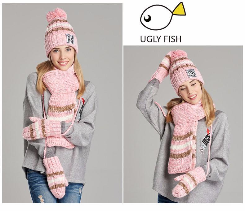 hat scarf glove set (13)