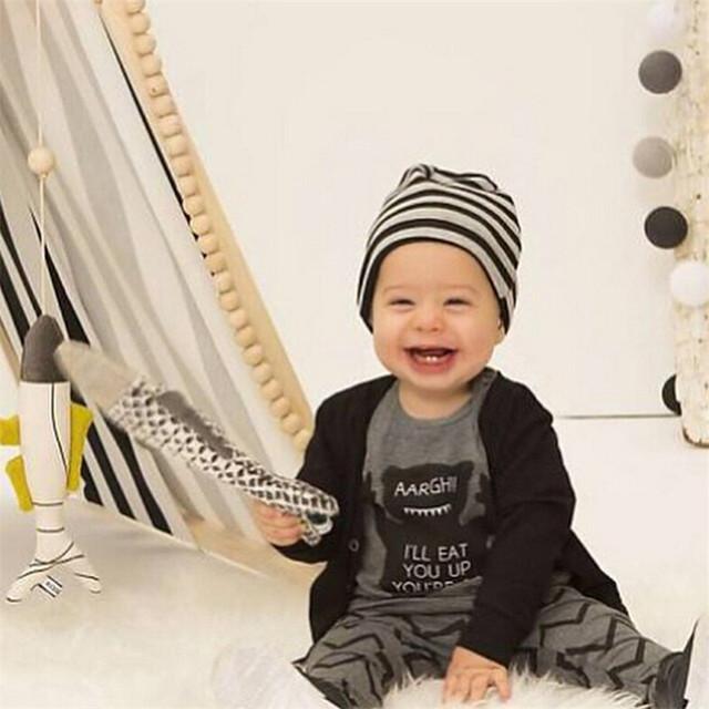 Baby boy clothes cotton baby clothing fashion long-sleeved t-shirt+pants 2pcs suit children clothing set kids sport suit