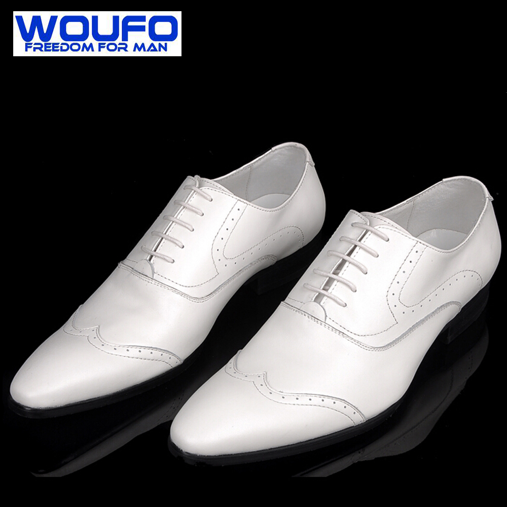 Mens White Tuxedo Shoes Promotion-Shop for Promotional ...