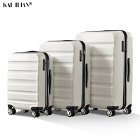 100% PC 20''24/28 inch travel bag on wheels suitcase rolling trolley luggage cabin carry ons luggage bag Women fashion suitcase