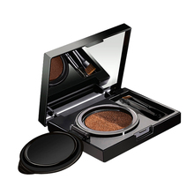 Eyebrow Enhancer Makeup Air Cushion Henna Cream Palette With Brush Double-color Waterproof Eye Brow Tattoo Kits Cosmetic