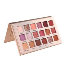 Beauty Glazed Soft Makeup EyeShadow Pallette 18 Colors Matte Nude Eyeshadow Highlighter Eye Makeup Palette Of Shadows maquillage