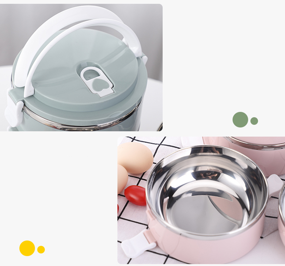 LIYIMENG 304 Stainless Steel Japanese Lunch Box Thermal For Food Portable LunchBox For Kids Picnic Office Workers School17