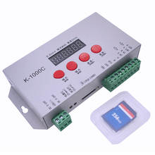 IC card RGB LED Controller 4Keys Programmable DC5-24V Led Strip Controller for WS2811 WS2812b WS2813 SK6812 Pixel Led Strip hc008 4keys dc 5v 12v 24v programmable rgb led pixel controller 133 effect modes dimmer for ws2812 ws2811 2801 led strip light