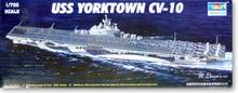 Трубач 05729 1/700 USS йорктаун CV-10 пластиковая модель комплект