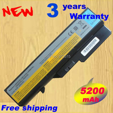 5200mAH Battery For Lenovo IdeaPad G460 G560 V360 V370 V470 B470 G460A Z460 Z465 Z560 Z565
