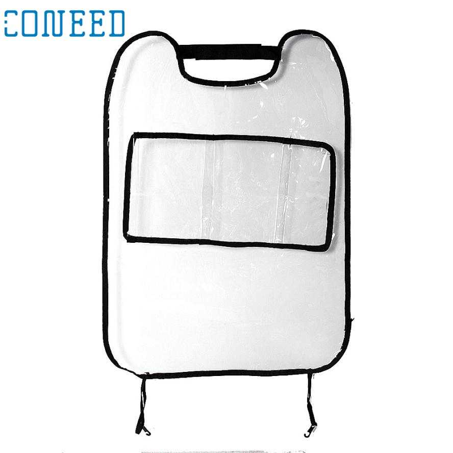 31 พฤษภาคม Mosunx ธุรกิจที่นั่งกลับปก Protector สำหรับเด็ก Kick Mat Storage Bag A1 #30