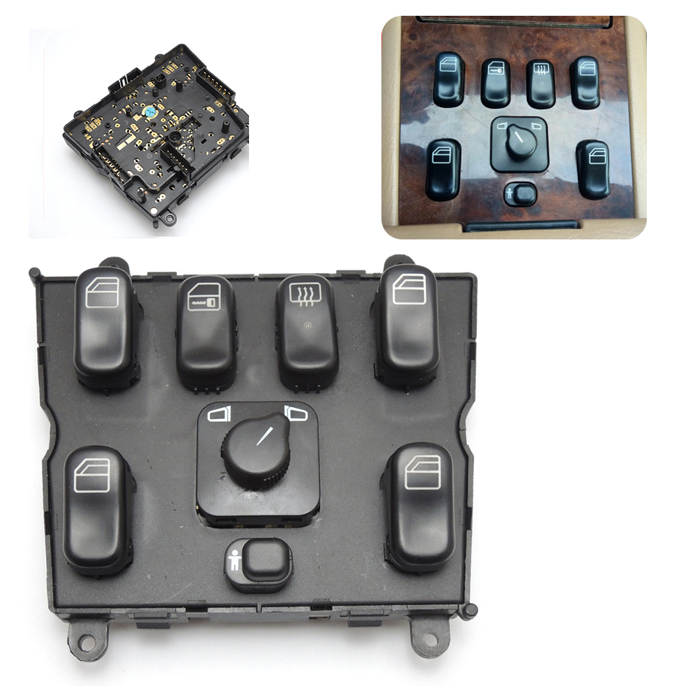 Power Window Switch for Mercedes-Benz ML320 W163 ML400 ML430 ML500 A1638206610 1638206610(China)
