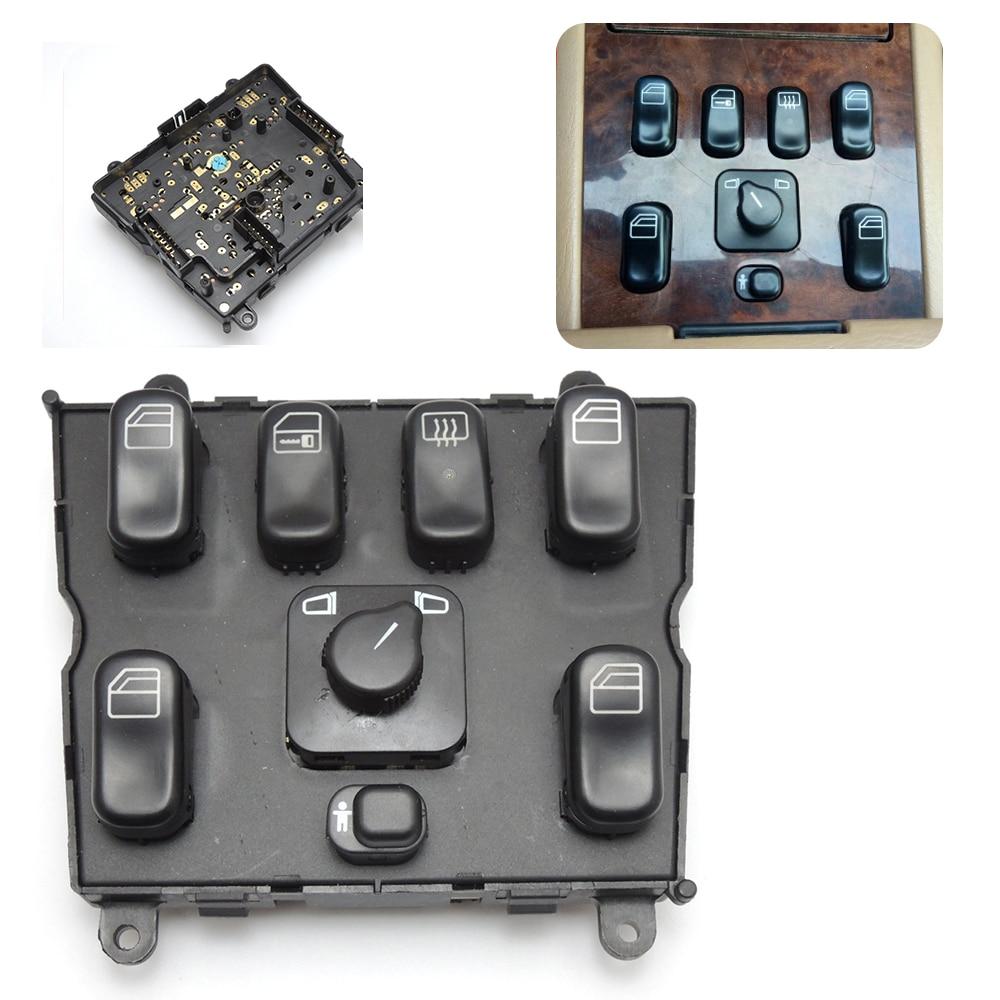 Power-Window-Switch A1638206610 Ml320 W163 Mercedes-Benz for Ml400/Ml430/Ml500/..