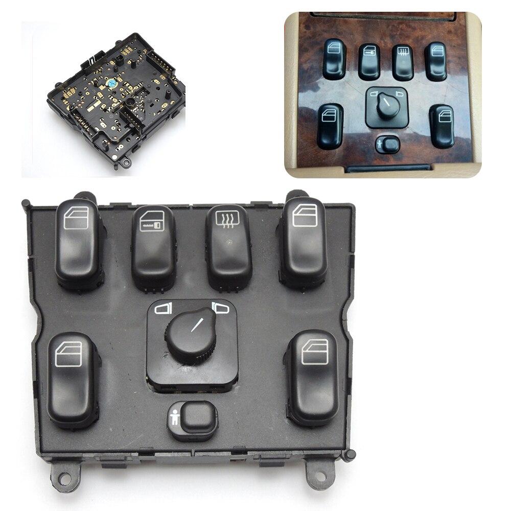 1638206610 Window Master Switch for Mercedes-Benz W163 ML320 ML430 A 1638206610 03751566 power window lifter switch for mercedes benz actros mpii 9438200097
