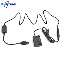 5V USB AC PW20 + NP FW50 FW50 fałszywe bateria do sony kamera NEX 3 NEX 5 7 SLT A33 A55 SLT A35 a7 a7R a7II a6000 a3000 A6300 A6500 w Adaptery AC/DC od Elektronika użytkowa na