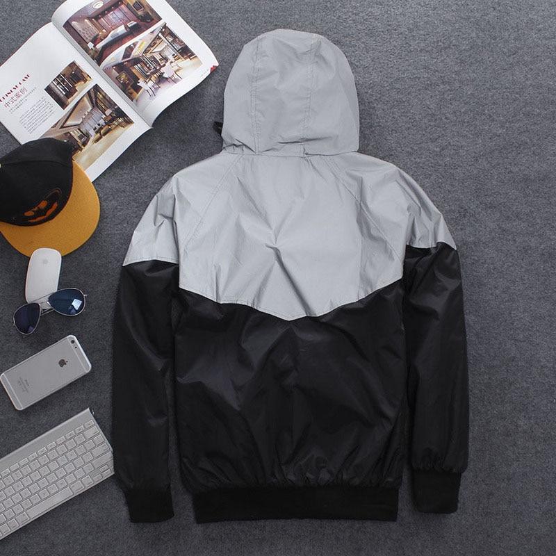 Чоловіча куртка випадковий хіп-хоп, - Чоловічий одяг - фото 3