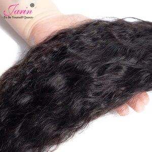Image 3 - 1 3 6 9 Pcs Peruvian Kinky Straight Hair Extension Hair Weave Bundles Deal Coarse Yaki 100% Human Hair Remy Jarin Bulk Sale