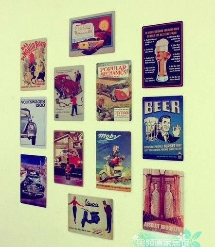 Wonderful HOT SALE Nostalgic Beer Car Poster Vintage Metal Tin Sign Decor, Home Bar  Cafe Wall