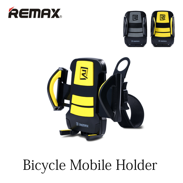 REMAX Велосипед Держатель Мобильного для Безопасной Езды На Велосипеде Регулируемый Кронштейн Поддержка 3.5 до 7.0 дюймов Прочный Материал ABS