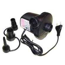 AC 220V ปั๊มลมไฟฟ้าสำหรับ Air เตียงเรือตุ๊กตา Inflatable ที่นอน 3 หัว EU Plug m25