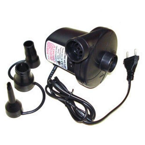 Pompe à Air électrique 220V AC, pour poupées, lit à Air, matelas gonflable avec 3 buses, prise ue, M25