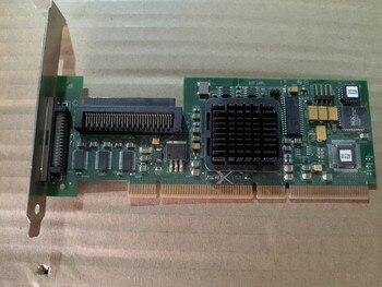 Adaptador para LSI 20320R 2032L-R PCI-X SCSI puerto único HDD tarjeta controladora host tarjeta RAID 0, 1