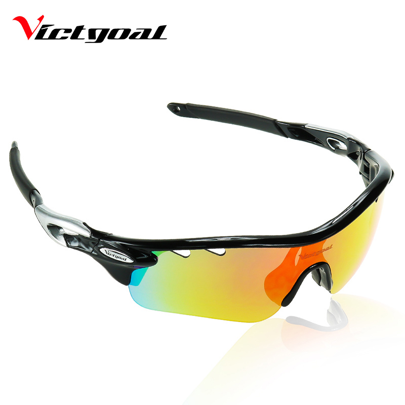 VICTGOAL Polarized Cycling Glasses UV400 Protect Bicycle Men Women Sunglasses Outdoor Sport Running Cycling Bike Eyewear 5 Lens obaolay outdoor cycling sunglasses polarized bike glasses 5 lenses mountain bicycle uv400 goggles mtb sports eyewear for unisex