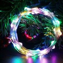 Светодиодный свет под кабинет Белый светодиодный светящееся Рождественское украшение праздничные огни несколько Цвет светодиодный лампы Газа